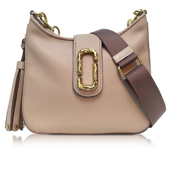 81776e998c47 Marc Jacobs small Interlock leather Hobo